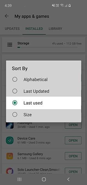 choose one app